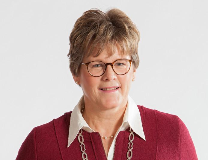 Burgemeester Titia Cnossen.