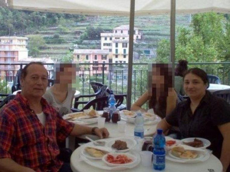Kok Juan Carlos Pastenes en zijn vrouw Nora.