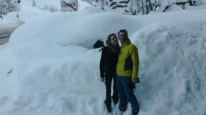"""Francis en Nathalie wonen in door hevige sneeuwval geteisterd Oostenrijk: """"We hopen vooral op een geleidelijke dooi, zonder schade"""""""