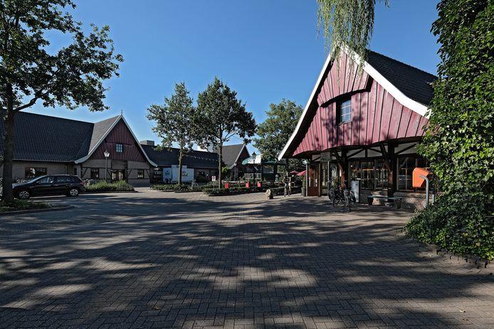 De hoofdingang van Marveld Recreatie in Groenlo.