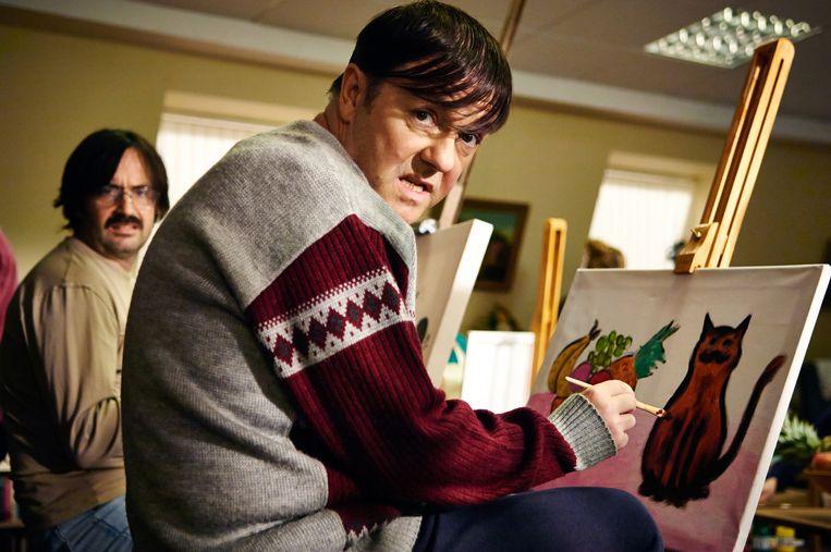 Ricky Gervais als 'Derek' Beeld ap