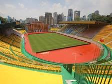 Chinese club verft stadion goudkleurig en wint vijf keer op rij