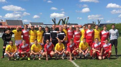 Speler SK Staden zakt in elkaar op het veld: slachtoffer naar ziekenhuis gebracht