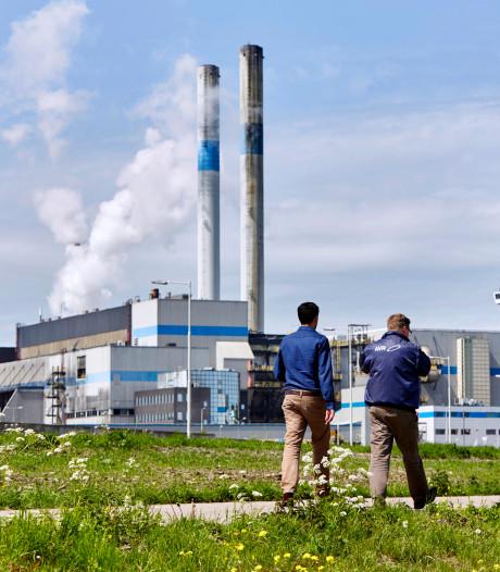 Grootste afvalverwerker van de Rotterdamse regio vanwege onderhoud uit de lucht