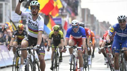 Sagan wint Gent-Wevelgem na uitgekookte sprint, wereldkampioen is ook nieuwe recordhouder