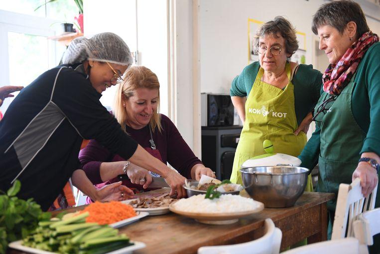 Het kookboek werd gelanceerd met een workshop