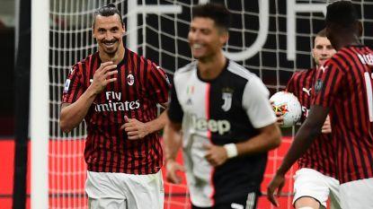 """""""Ik ben spits, coach én voorzitter. Jammer genoeg word ik enkel voor het eerste betaald"""": Zlatan hélemaal zichzelf tegen Juventus en Ronaldo"""