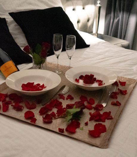 Ontbijtje op bed voor Bosschenaren met Valentijnsdag
