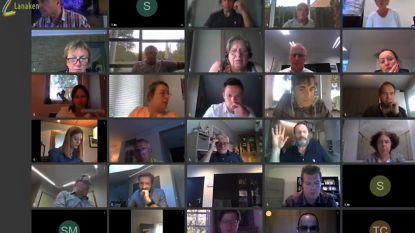 Eerste virtuele gemeenteraad verloopt vlot