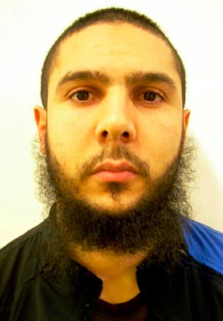 Medhi Nemmouche in 2011. In de gevangenis, waar hij verder radicaliseerde, liet hij zijn baard groeien.
