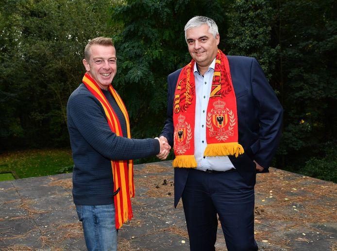 Hoofdaandeelhouder Dieter Penninckx en algemeen directeur Frank Lagast