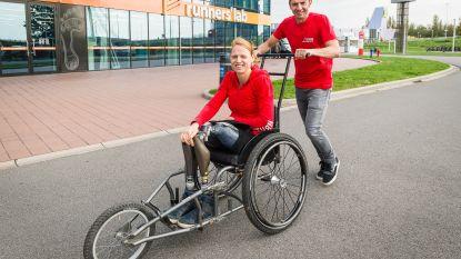 Een echte 'overwinnaar': na Machu Picchu op protheses, doet Hannelore nu gooi naar wereldrecord