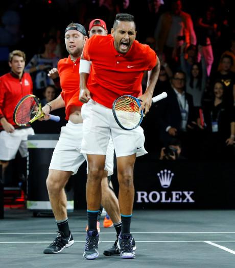 Nadal en Tsitsipas verliezen dubbelspel, Europa toch met voorsprong naar beslissende dag
