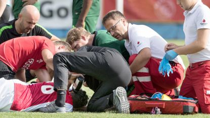 """""""Nederlandse voetbalbond en Ajax wisten sinds 2014 van hartafwijking speler die in juli in elkaar zakte"""""""