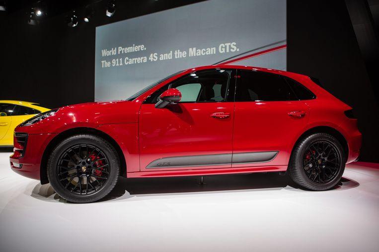 De nieuwe Porsche Macan. Beeld epa