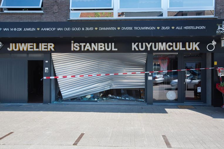 De mislukte ramkraak op Juwelier Istanbul is het laatste wapenfeit van de verdachten.