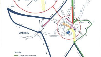 Gemeente past verkeersafwikkeling in hartje Kruishoutem aan