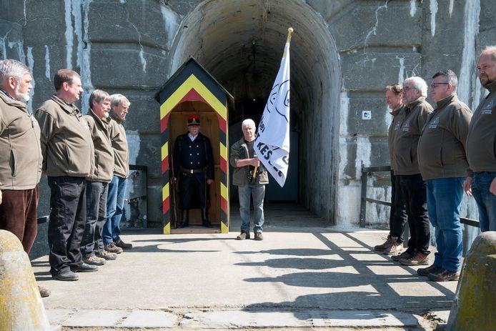 De plechtige opening vond plaats aan het Fort.