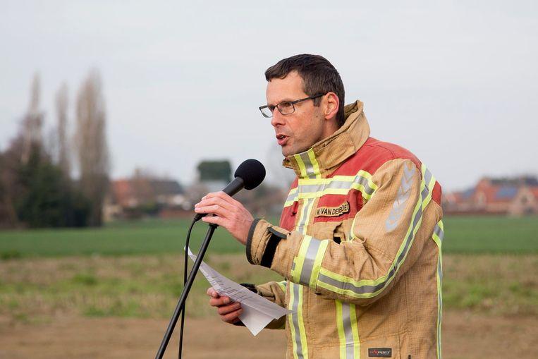 Kapitein Wouter Van Den Broeck wordt vanaf 1 september zonecommandant.