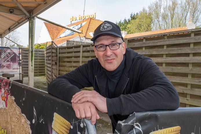 Eigenaar van de Hooizolder André ter Weijden.