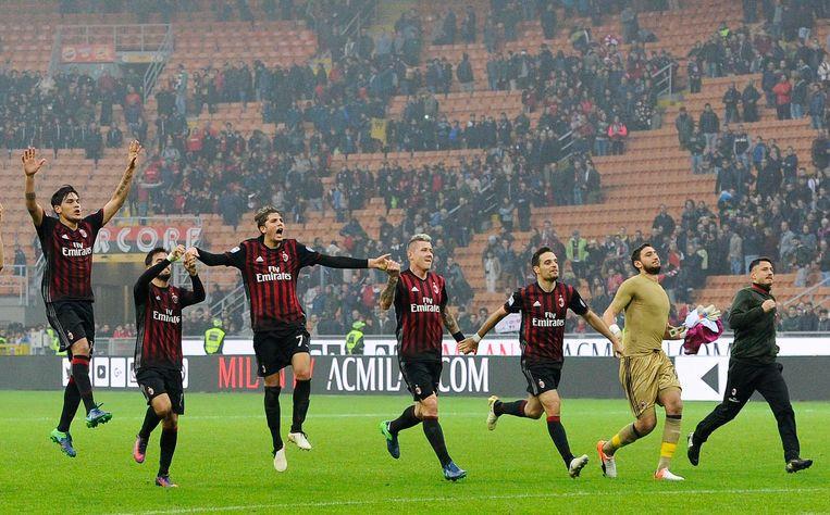 AC Milan won van Pescara. Beeld Proshots
