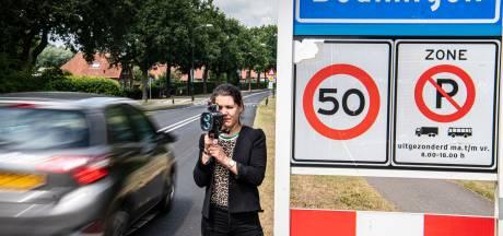 Hardrijders betrapt met lasergun,  maar 'de Gelderlander' deelt geen boetes uit