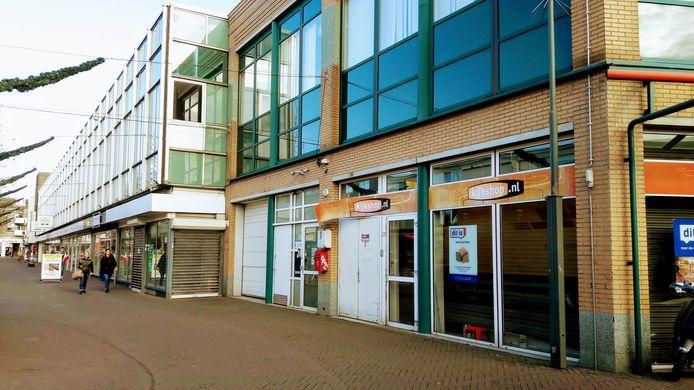 Leegstand in de Dokter Brabersstraat en het Roselaarplein in Roosendaal.