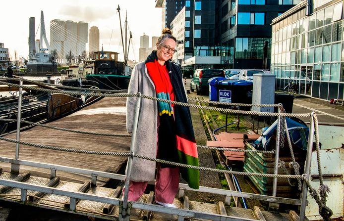 Annemieke van Wegen-Delhaas doet de aankleding van de hele stad rondom het Eurovisie Songfestival.