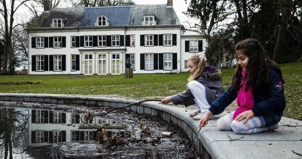 Historisch huis in het park amersfoort - Scherm huis ...