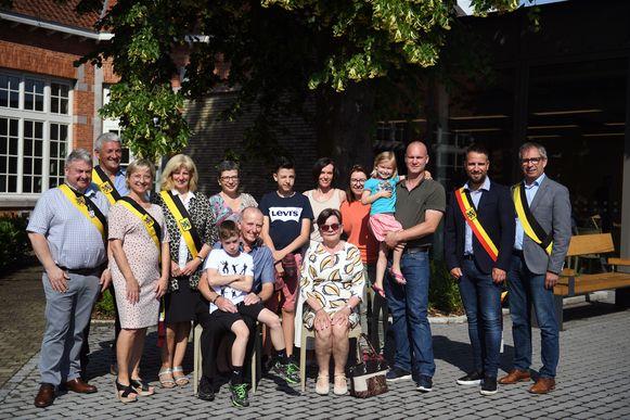 De familie De Swert en Van Nieuwenhuyse