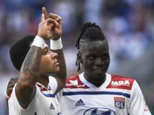 Fantastische vrije trap Memphis voor Olympique Lyon