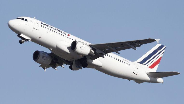 Een toestel van Air France.