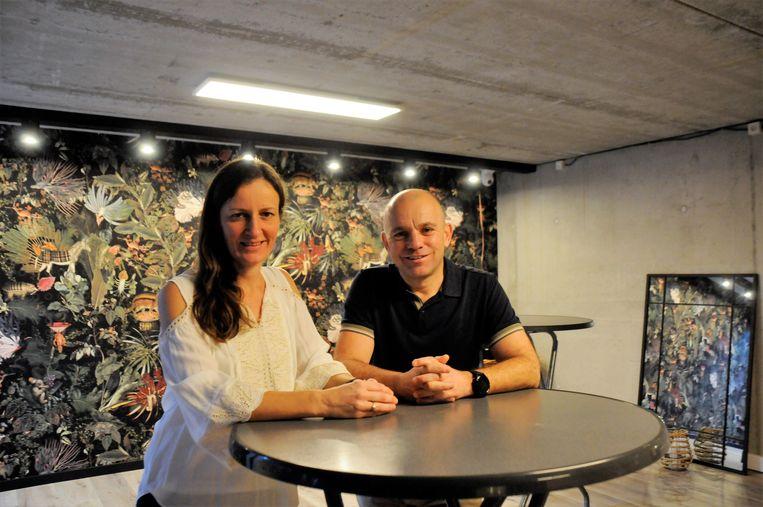 Ann en Geert in de Balannz+ studio.