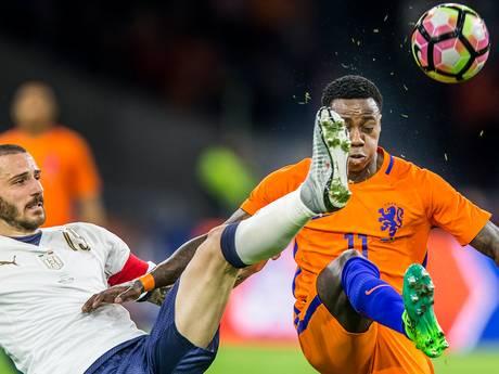 Ook Italië zet kwetsbaar Oranje opzij