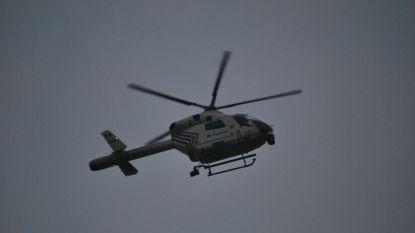 Autodieven gevat na klopjacht met helikopter
