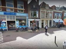 Huizen, grote super en parkeergarage in oude centrum Voorburg