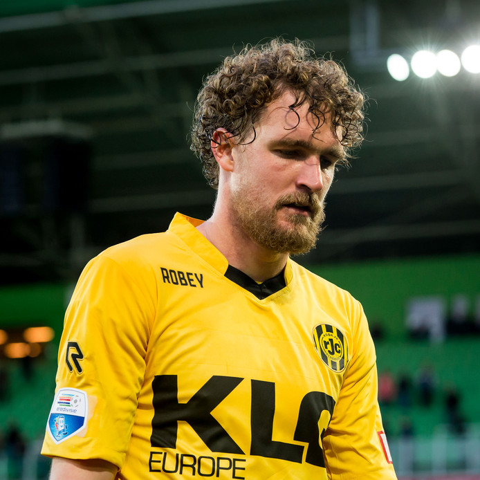 Arjan Swinkels in het shirt van Roda JC.
