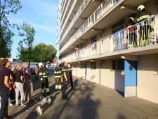 Lekkage in flat Boogschutter in Boxtel, brandweer draait hoofdkraan dicht