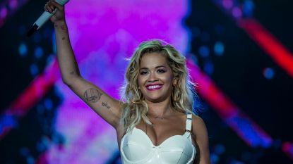 Rita Ora tekent contract bij Kate Moss