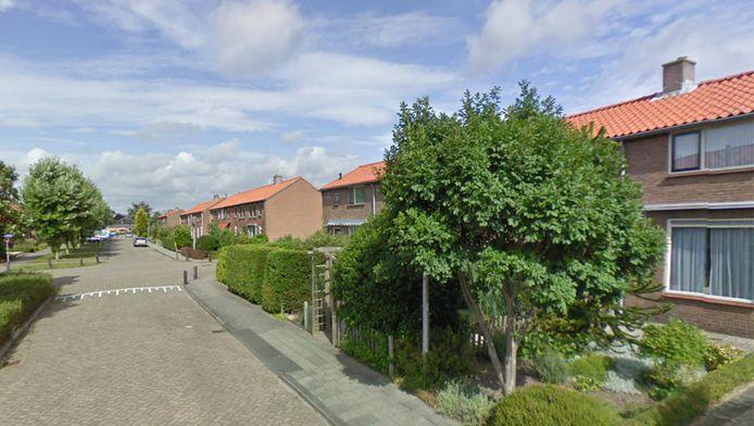 De Noordstraat in Maasdam