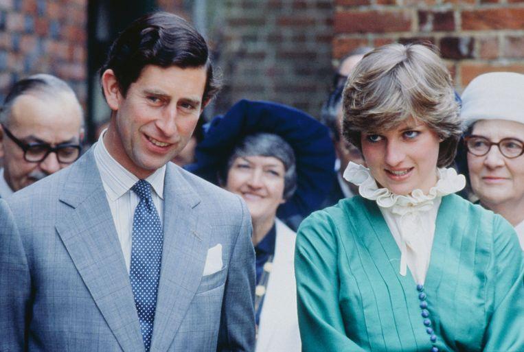 Prinses Diana en Charles