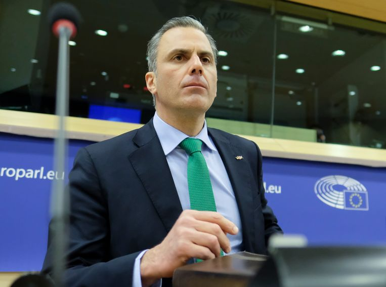 Javier Ortega Smith, secretaris-generaal van Vox.