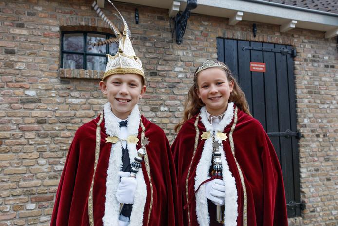 Prins Jelle II en Prinses Fenne