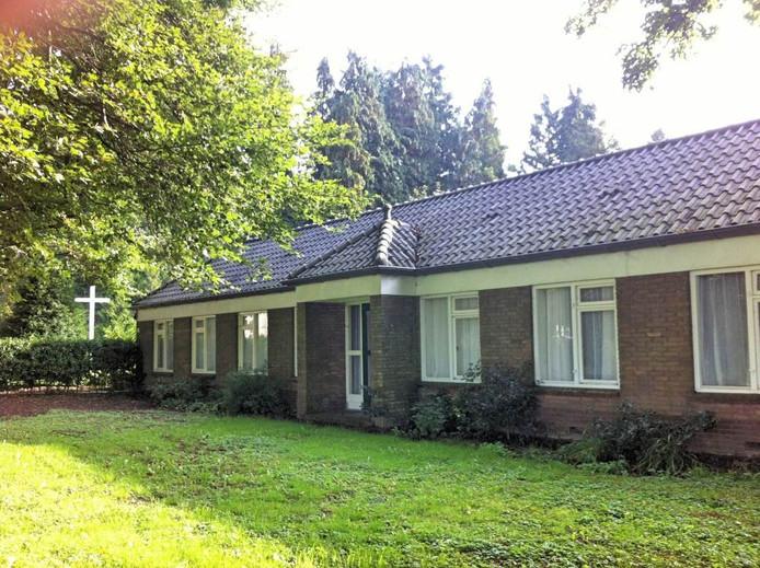 Dit was het pand waarin 17 vluchtelingen werden opgevangen, bij Klein Sion in Leuvenheim, gemeente Brummen.