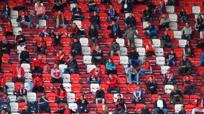 Voetballen mét publiek, zo gaat dat in Hongarije