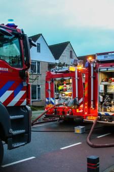 Woning onbewoonbaar na felle zolderbrand Doesburg