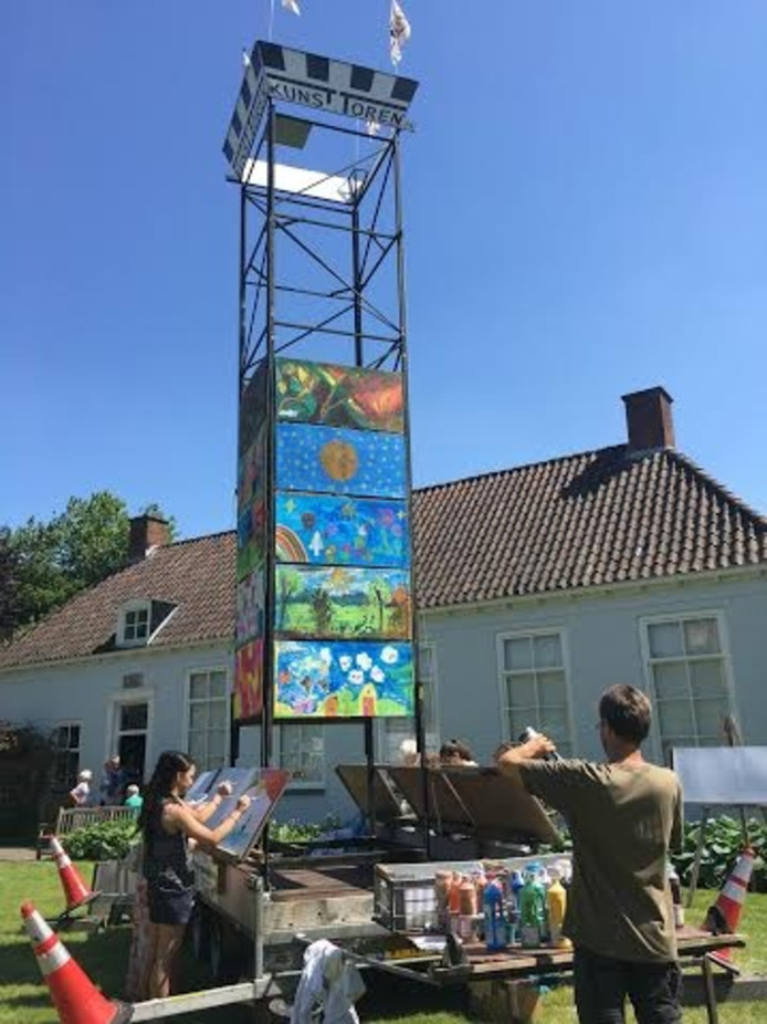 De Kunsttoren in de Palthe-tuin.