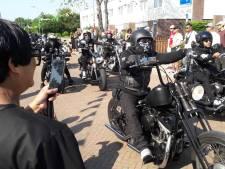 Driehonderd motoren in Zeeland op pad voor de Molukken