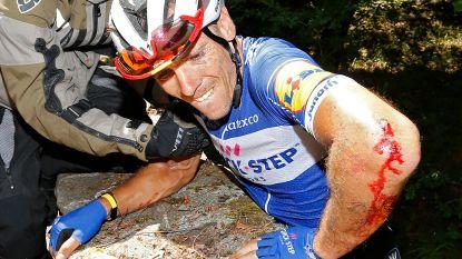 """Val van Gilbert doet ex-renner terugdenken aan Weylandt en Casartelli: """"Het kon godsgruwelijk verkeerd aflopen"""""""