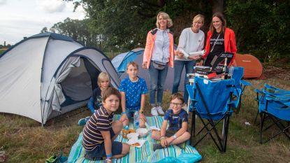 Gezellig druk op Camping Prullenbos